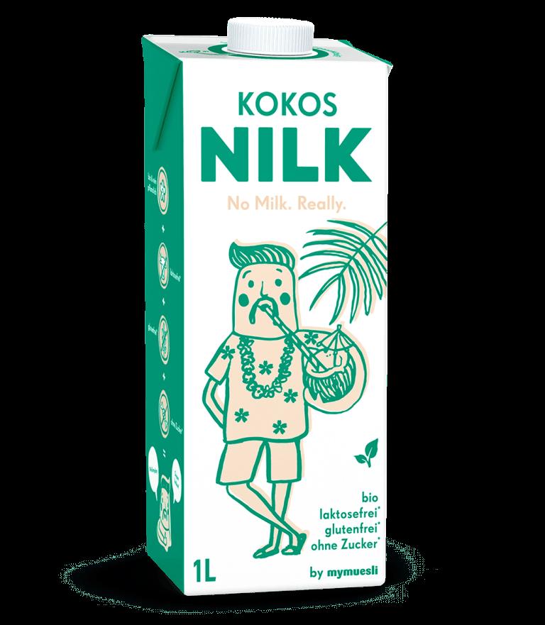Erfrischende Kokos Nilk