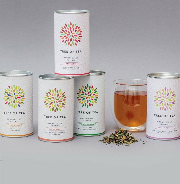 Unsere 5 beliebtesten Teesorten vereint in unserem Bestseller Paket