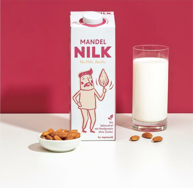 Nussig-mild und von Natur aus vegan: Unsere Mandel Nilk