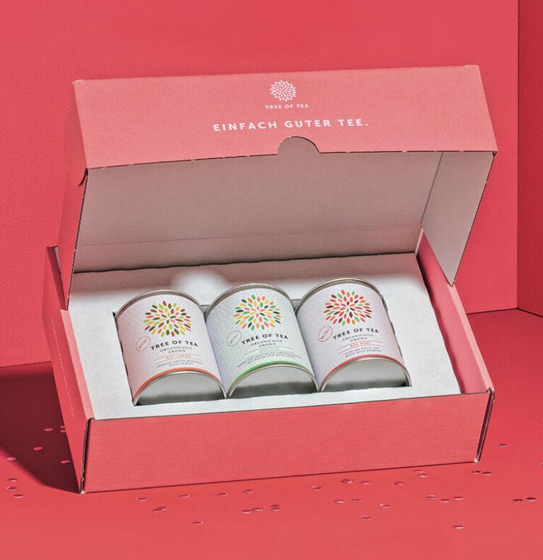 Sicher Dir jetzt Dein gratis Probierpaket mit 3 leckeren Tee-Minis!