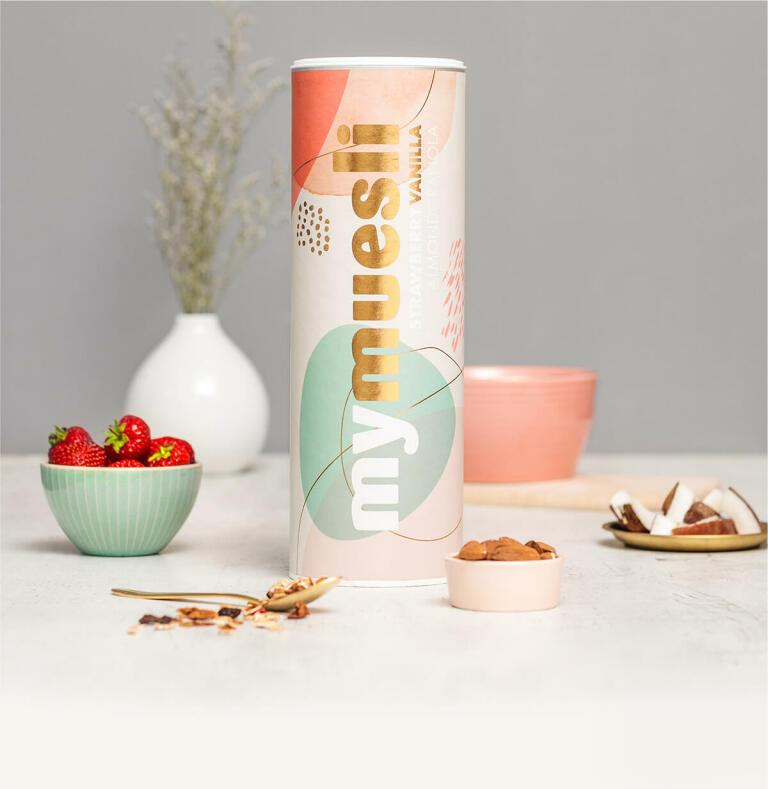 Strawberry Vanilla Almond Granola