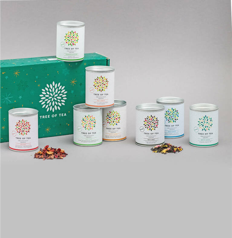 Probierpaket mit 8 leckeren Tee-Minis
