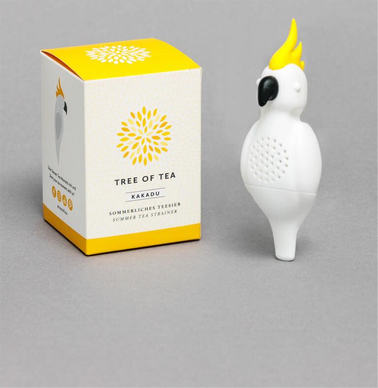 Jetzt Kakadu Teesieb sichern, auch einzeln erhältlich