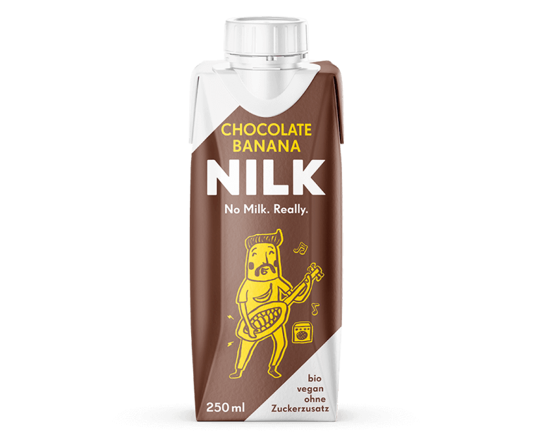 Nilk2go Chocolate Banana mit leckerer Hafer Nilk