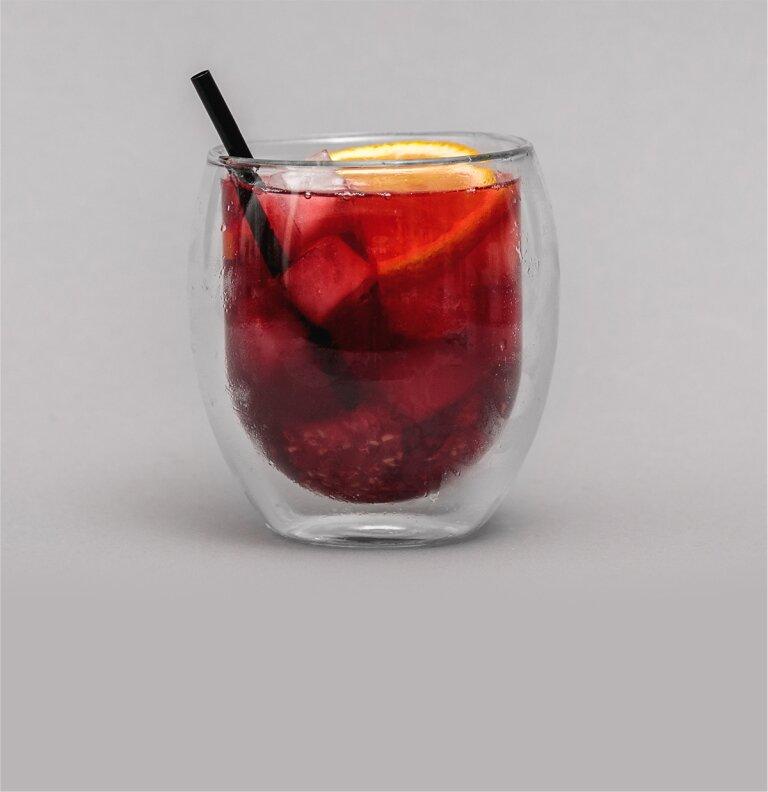 Doppelwandiges Teeglas für besten Teegenuss.