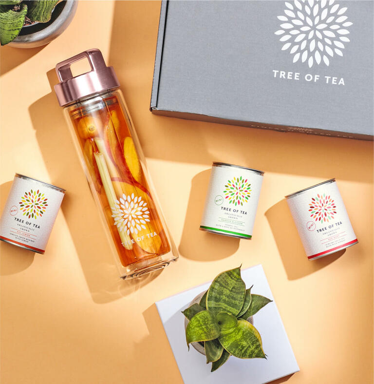 Infused Tea mit unserem Tea2go Set.