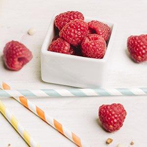 Frische Früchte machen die Muffins wunderbar saftig