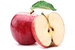 Lekkere gedroogde appelstukjes