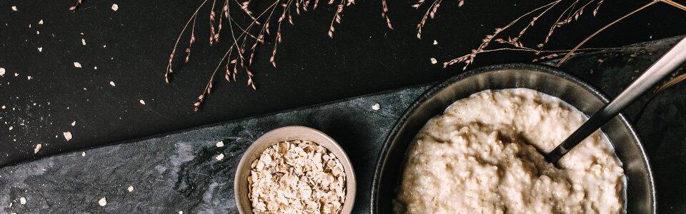 Porridge aus feinsten Bio-Haferflocken