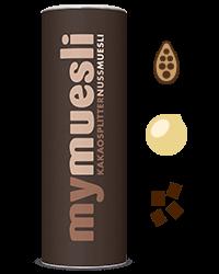 Schokomüsli für schokoladige Riegel