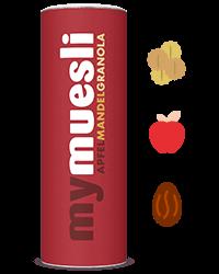 Apfel-Mandola-Granola für fruchtige Müsliriegel