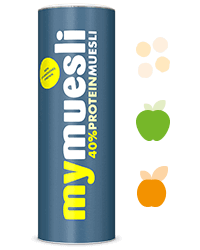 Proteinmüsli für Eiweiß-Müsliriegel
