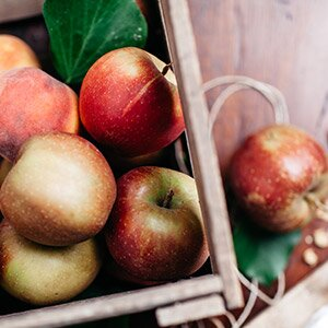 Am besten eignen sich Boskoop Äpfel
