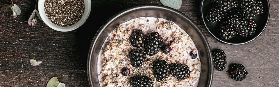 Pralle Brombeeren für Dein Porridge-Frühstück