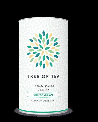 Leichter weißer Tee