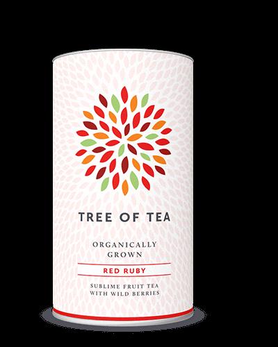 Tee mit fruchtigen Zutaten.