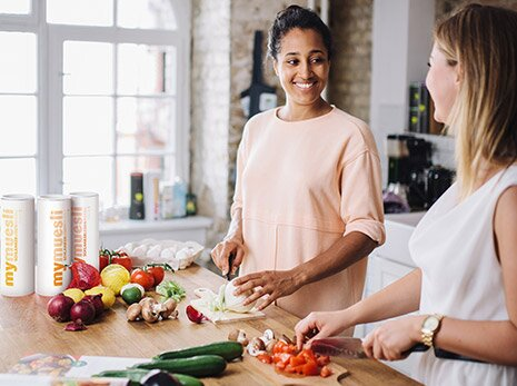 Figurbewusste Ernährung mit Bio-Müsli