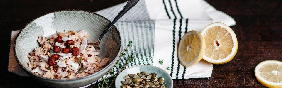 Warmer Paleo Frühstücksbrei für kalte Wintertage - die ideale Alternative für Haferbrei bei einer Paleo-Ernährung