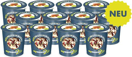 Protein-Müesli zum Mitnehmen