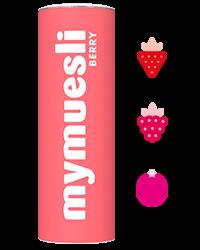Krokante muesli met rode vruchten