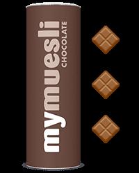 Krokante chocolade muesli