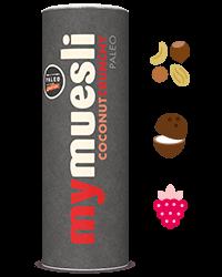 Paleo muesli met crunchy noten en kokos
