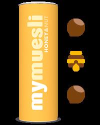 Krokante muesli met honing en noten