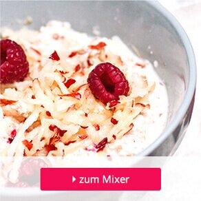 zarte Haferflocken sind die Grundlage von Porridge