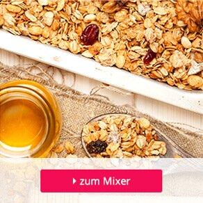 in Bienenhonig gebackene Bio-Haferflocken werden in Granola verwendet