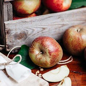 Frische Äpfel für einen herrlichen Apfelkuchen